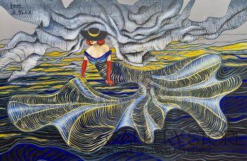 Agata Padol-Mermaid III-Akryl