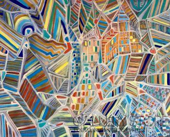 Agata Padol-Patchwork -Akryl