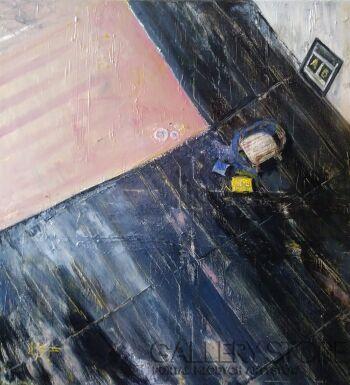 Agnieszka  Banasiak-Waiting for myself-Olej