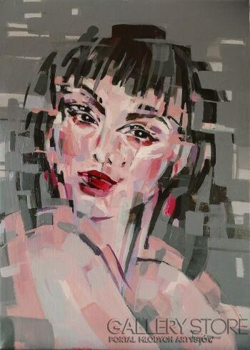 Agnieszka Fijał- Czapla-Rozwarstwienie-Akryl