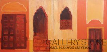 Agnieszka Kozień-Rajasthan nr 13 #Indie-Olej