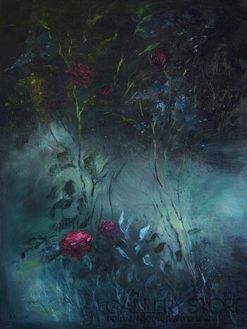 Agnieszka Krawczyk-W ogrodzie część 2-Olej