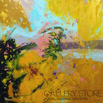 Agnieszka Mrowca-Go abstract-Akryl