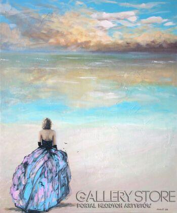 Agnieszka Mrowca-Let your lover sail-Akryl