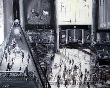 Agnieszka Mrowca-Obraz Klucz II-Akryl