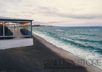 Agnieszka Mrowca-Restauracja na plaży-Akryl