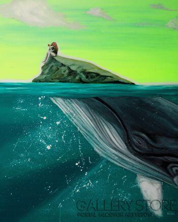 Agnieszka Nosek-Underwater dream-Olej