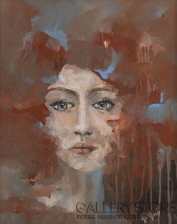 Agnieszka Potocka-Makoś-Portret II-Akryl