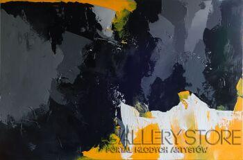 Agnieszka Potocka-Makoś-Zamieszanie-Akryl