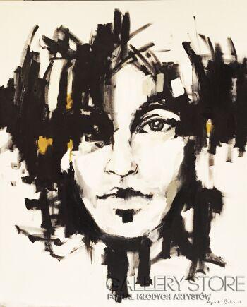 Agnieszka Sukiennik-unformed mind-Akryl