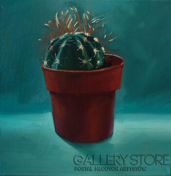 Aleksandra Jas-Kaktusy-Olej