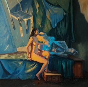 Aleksandra Jas-Kontemplacje-Olej