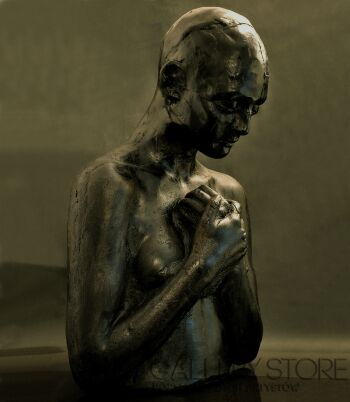 Aleksandra Koper-CZARNY AKT-Rzeźby