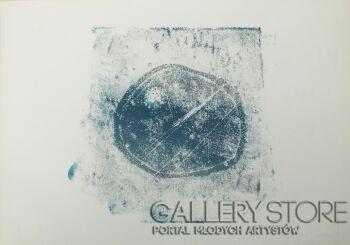 Aleksandra Krogulecka-BLUE PEBBLES 1 z 3-Akryl