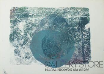 Aleksandra Krogulecka-BLUE PEBBLES  2 z 3-Akryl