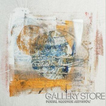 Aleksandra Krogulecka-Golden lining 2 z 3-Technika mieszana
