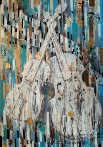 Aleksandra  Michalik-Biały Duet 2-Akryl