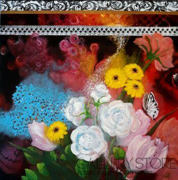 Aleksandra  Michalik-FLOWER POWER  1-Akryl