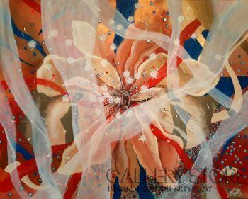 Aleksandra  Michalik-Sensual feeling-Akryl