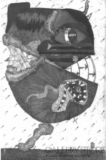 Amadeusz Popek-Głowa-Grafika