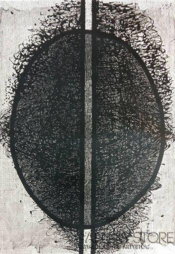 Amadeusz Popek-Jajo-twister-Grafika