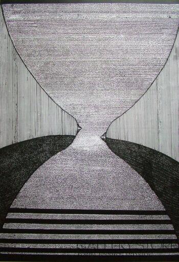 Amadeusz Popek-Klepsydra-Grafika
