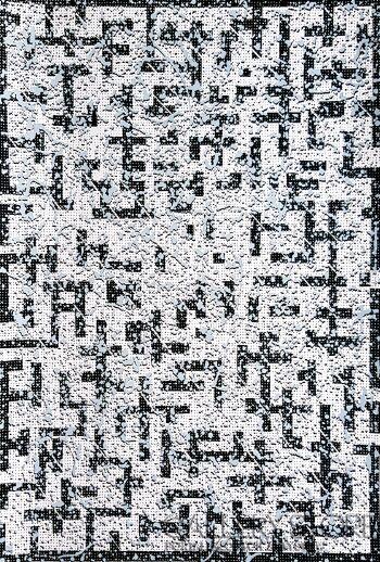 Amadeusz Popek-Labyrinth-blizzard-white-Grafika