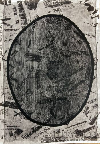Amadeusz Popek-Medialne jajo-Grafika