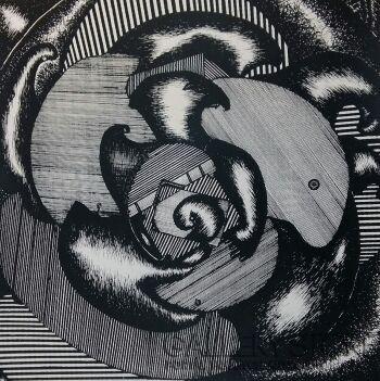 """Amadeusz Popek-""""Mirage""""-Grafika"""