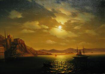 Andrei Chakhouski-Złoty Róg Bosphor-Olej