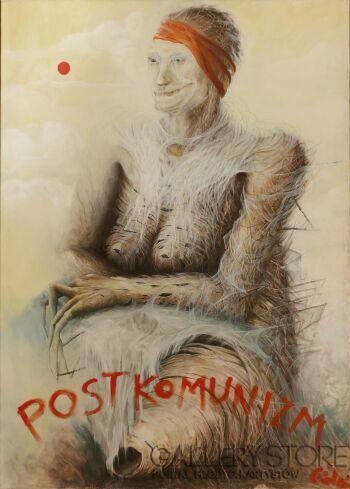 Andrzej Ciołek-Postkomunizm-Olej