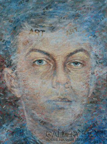 Andrzej Zujewicz-Artoportret-Olej
