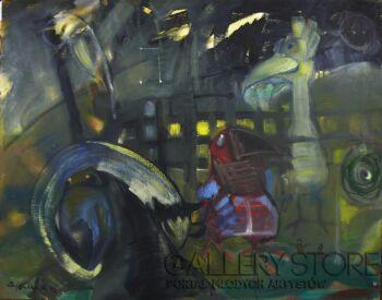 Andrzej Zujewicz-Ptaki 1-Olej