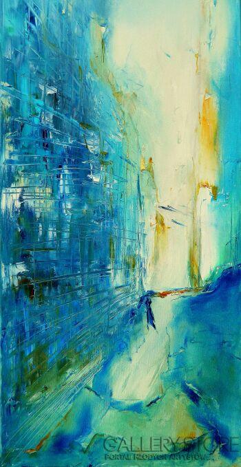 Aneta Barglik-'Jest takie miejsce'-Olej
