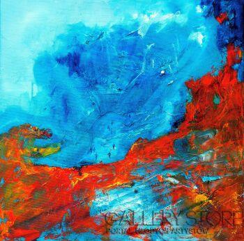Aneta Barglik-'Miejsce i Czas'-Olej