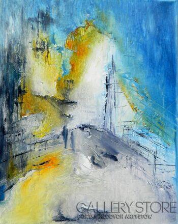 Aneta Barglik-'Oczekiwanie'-Olej