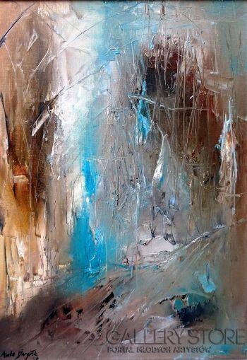 Aneta Barglik-'Sam na Sam'-Olej