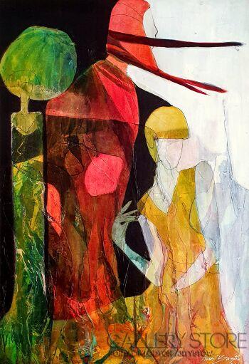 Aneta Barglik-'Spojrzenie Nad'-Olej