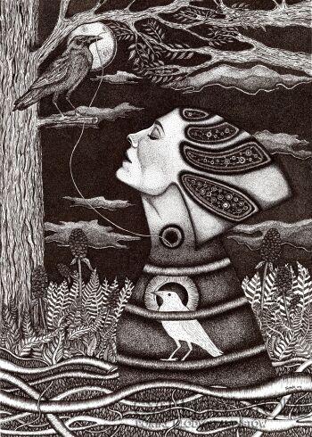 Aneta Mlaś-Światłoczułość-Grafika