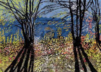 Angelika Mus-Nowak-Ciepłe liście wymieszane z niebem-Rysunek