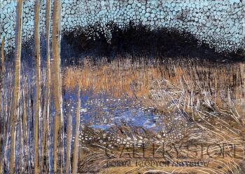 Angelika Mus-Nowak-Niebo rozlane w trawie-Rysunek