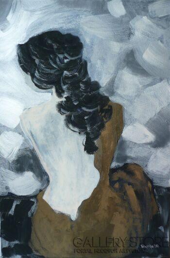 Angelika Telenga Kowalska-Pejzaż zmysłów-Akryl