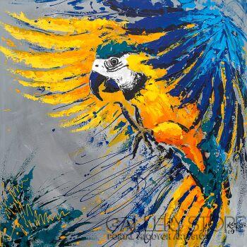 Ania Stępień-w kolorze siła-Akryl