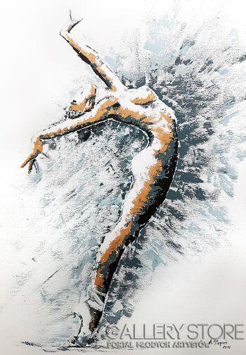 Ania Stępień-Wiatr-Akryl