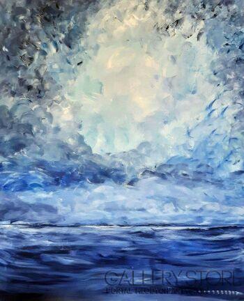 An Ga-Barwy nieba-Akryl