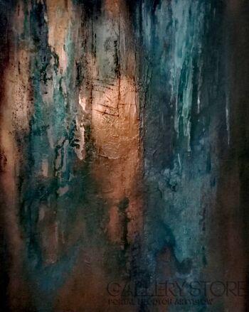 Anna Gaworska-Ukryte lustro 3/2018-Akryl