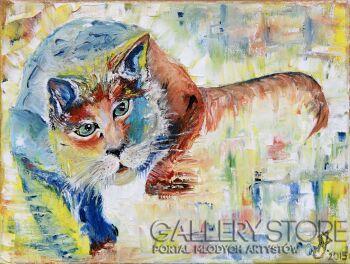 Anna Jakubowska-Kot w kolorze-Olej