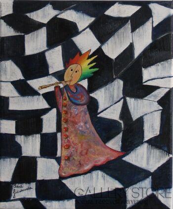 Anna Jakubowska-Wariacje 1-Olej