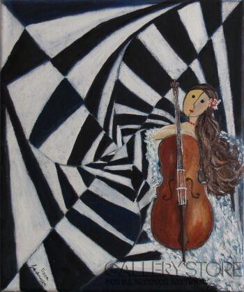 Anna Jakubowska-Wariacje 3-Olej