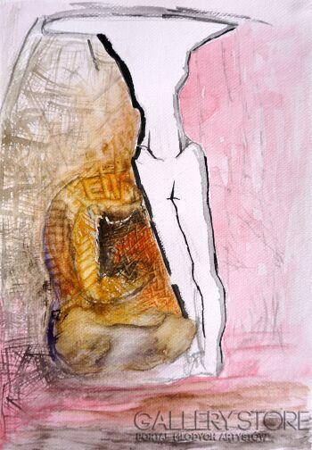 Anna Lupa-Suchy-Cannes-Akwarela